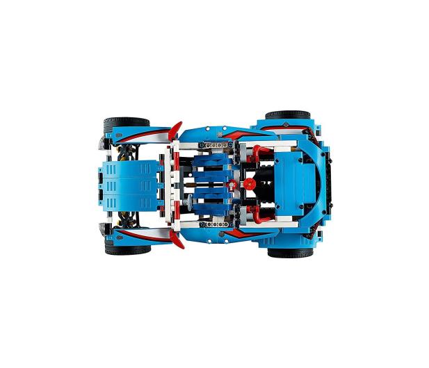 LEGO Technic Niebieska wyścigówka - 395195 - zdjęcie 8
