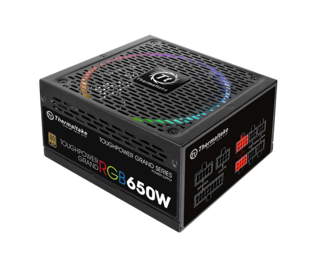 Thermaltake Toughpower Grand RGB 650W 80 Plus Gold - 402139 - zdjęcie