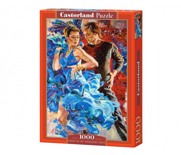 Castorland Dance in the Turquoise Tones - 403178 - zdjęcie