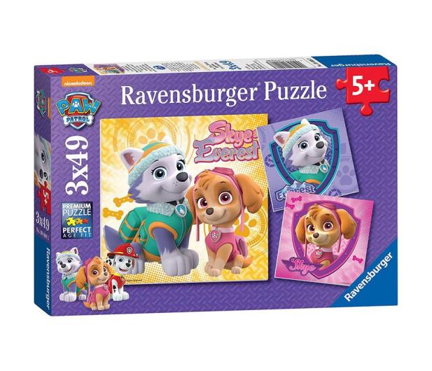 Ravensburger Psi Patrol Skye  & Everest  3X49 Elementów - 403636 - zdjęcie