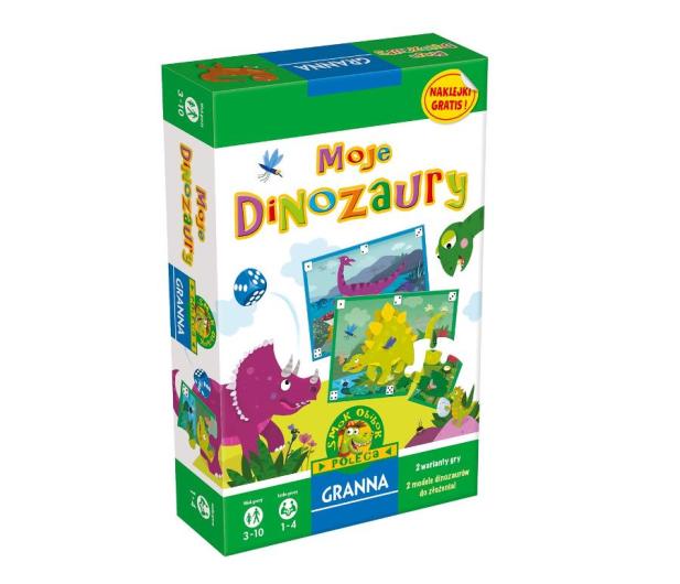 Granna Moje Dinozaury - 404331 - zdjęcie