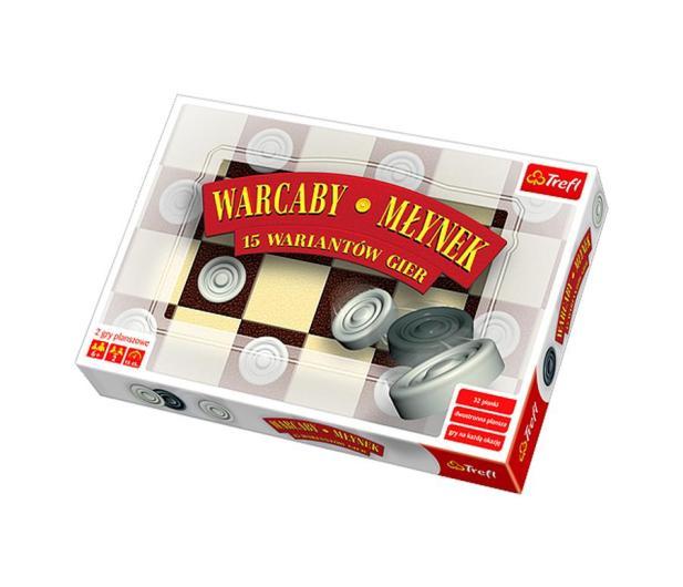 Trefl Warcaby, Młynek - 404430 - zdjęcie