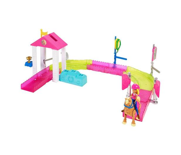 Barbie On The Go Zestaw Wyścig Kucyków z lalką  - 404578 - zdjęcie 2