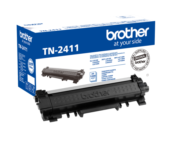 Brother TN2411 Black 1200 str. (TN-2411) - 405201 - zdjęcie