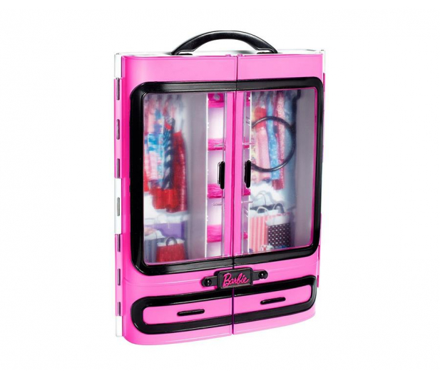 Barbie Fashionistas Szafa Walizeczka z akcesoriami - 404573 - zdjęcie