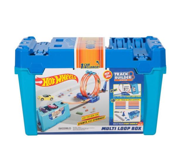 Hot Wheels Zestaw Kaskaderskie pętle niebieskie  - 404645 - zdjęcie 4