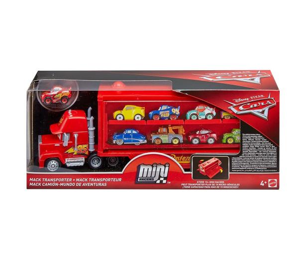 Mattel Disney Cars Mikroauta Transporter z Zygzakiem  - 404629 - zdjęcie