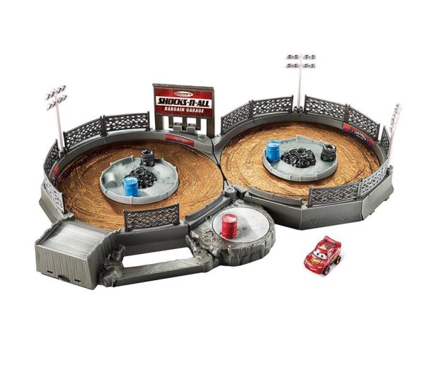 Mattel Disney Cars Mikroauta Zakręcona ósemka z Zygzakiem - 404630 - zdjęcie 1