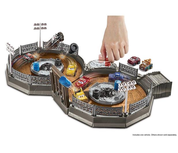 Mattel Disney Cars Mikroauta Zakręcona ósemka z Zygzakiem - 404630 - zdjęcie 3