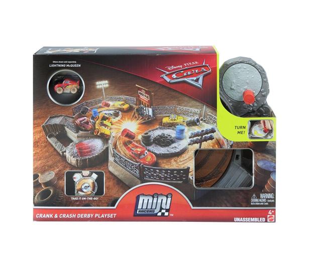 Mattel Disney Cars Mikroauta Zakręcona ósemka z Zygzakiem - 404630 - zdjęcie 4