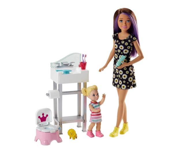 Barbie Skipper Zestaw Opiekunka z akcesoriami IV - 405268 - zdjęcie