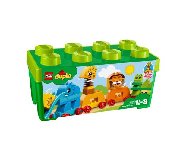 LEGO DUPLO Pociąg ze zwierzątkami - 395109 - zdjęcie