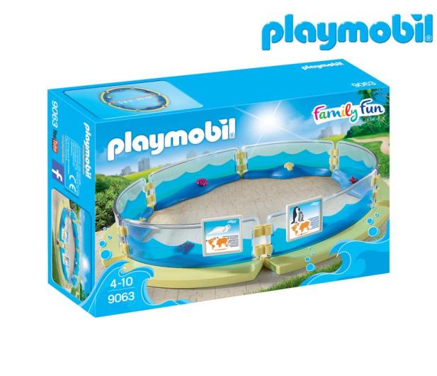 PLAYMOBIL Basen dla fauny morskiej - 405329 - zdjęcie