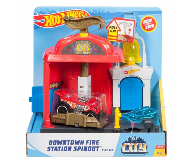 Hot Wheels City Mały Zestaw Odjazdowa Remiza - 405339 - zdjęcie 5