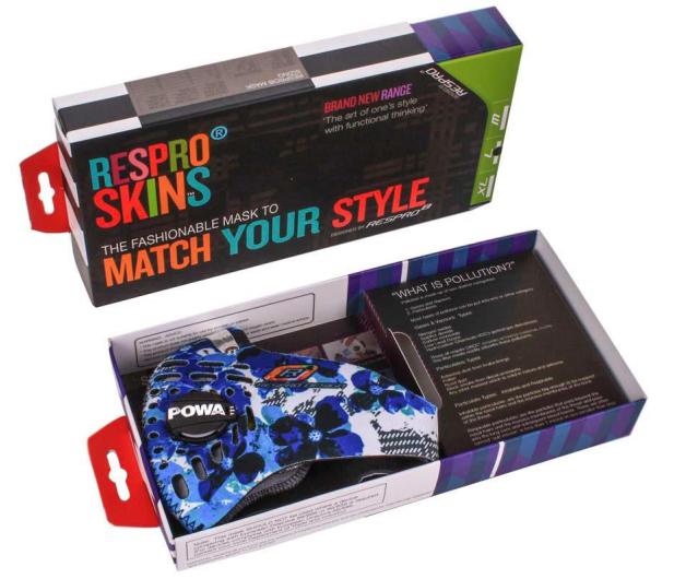 Respro Skin Petal Blue M - 400448 - zdjęcie 7