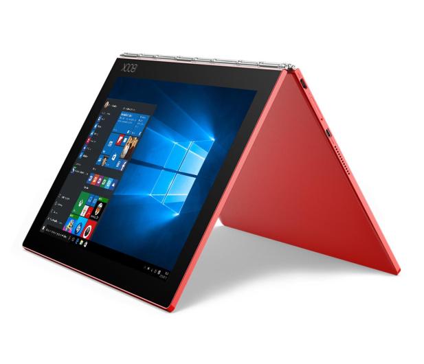 Lenovo YOGA Book x5-Z8550/4GB/128GB/Win10Pro LTE Czerwony - 396673 - zdjęcie 4