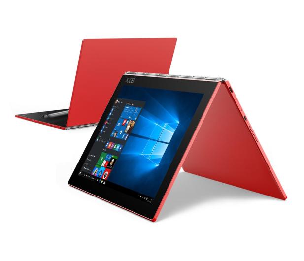 Lenovo YOGA Book x5-Z8550/4GB/128GB/Win10Pro LTE Czerwony - 396673 - zdjęcie