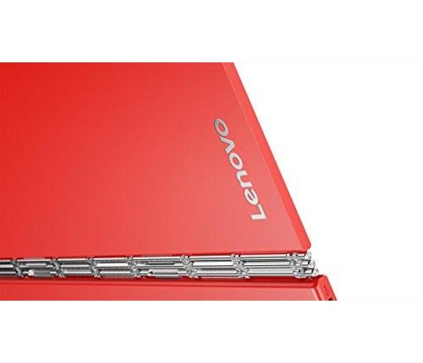 Lenovo YOGA Book x5-Z8550/4GB/128GB/Win10Pro LTE Czerwony - 396673 - zdjęcie 5
