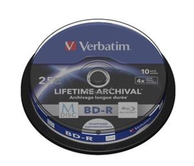 Verbatim  M-DISC 25GB X4 INKJET PRINTABLE (10 CAKE) - 454879 - zdjęcie