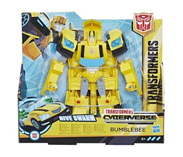 Hasbro Transformers Cyberverse Ultra Bumblebee - 455608 - zdjęcie 3