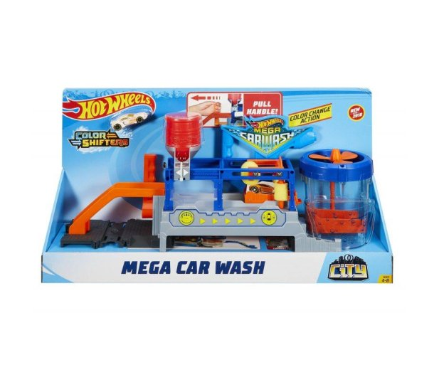 Hot Wheels City Super Myjnia Color Shifters - 456083 - zdjęcie 4