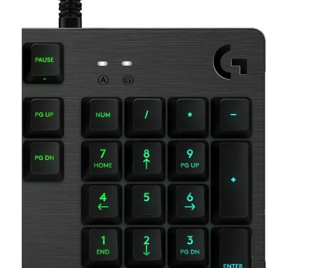 Logitech G513 CARBON Tactile - 427829 - zdjęcie 3