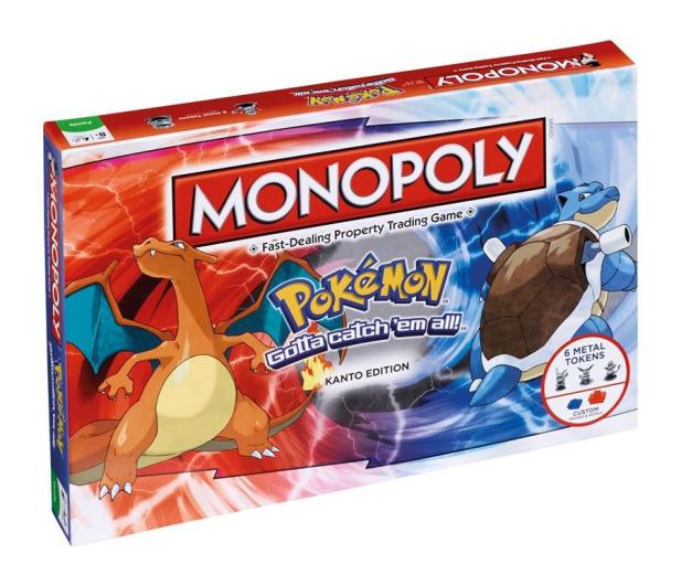Winning Moves Monopoly Pokemon - 428271 - zdjęcie