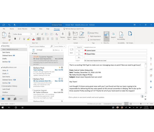 Microsoft Office 365 Business Premium | zakup z komputerem - 460107 - zdjęcie 4