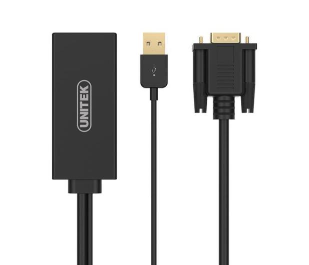 Unitek Adapter HDMI - USB, VGA - 458709 - zdjęcie