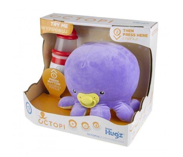TM Toys Octopi Ocean Hugzzz ośmiorniczka + latarnia - 382015 - zdjęcie 3