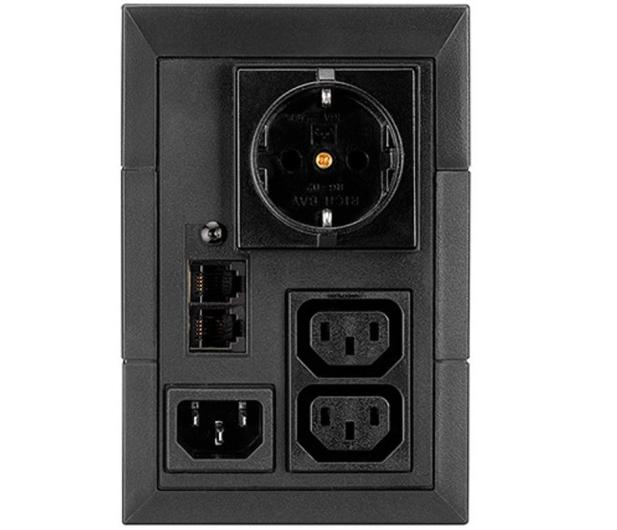 EATON 5E (850VA / 480W) Schuko + 2 x IEC USB - 452300 - zdjęcie 2