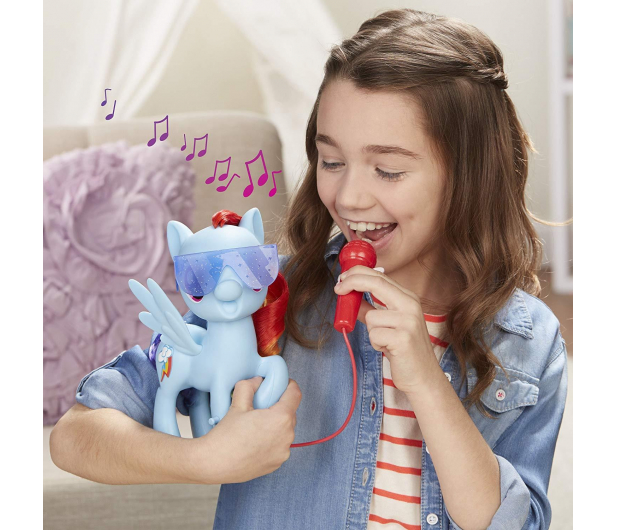 My Little Pony Śpiewająca Rainbow Dash  - 453397 - zdjęcie 6