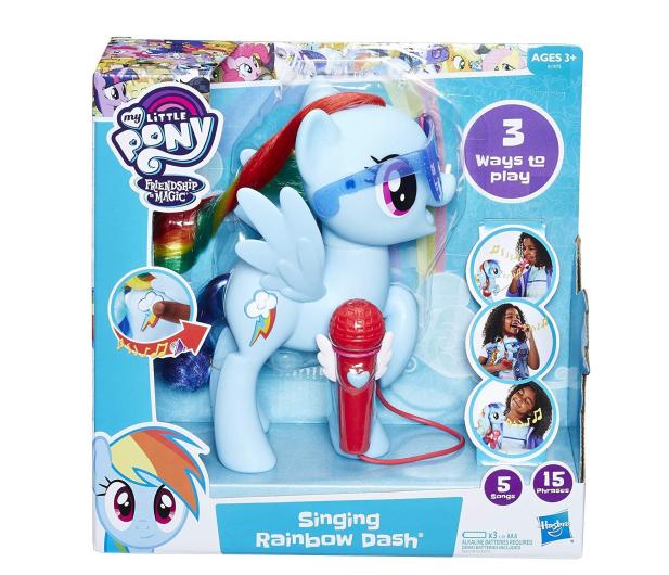 My Little Pony Śpiewająca Rainbow Dash  - 453397 - zdjęcie 7