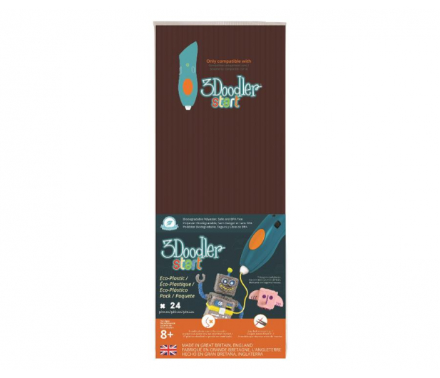 TM Toys 3Doodler wkład jednokolorowy brązowy DODECO11 - 453657 - zdjęcie