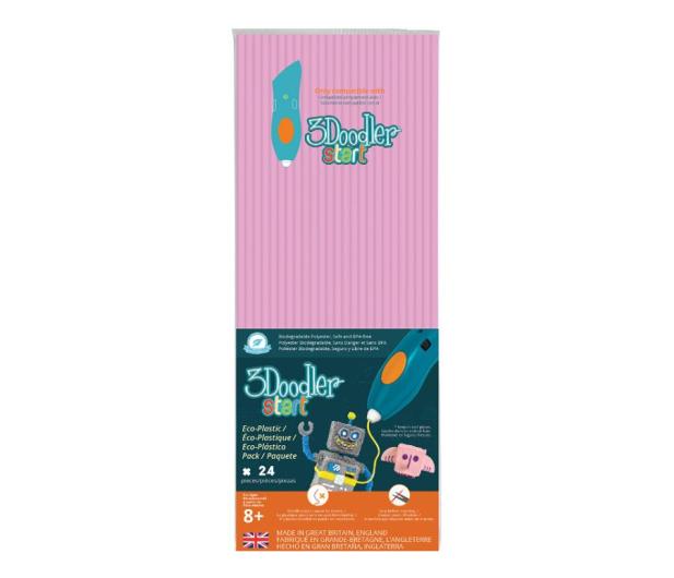 TM Toys 3Doodler wkład jednokolorowy pastelowy róż  - 453662 - zdjęcie