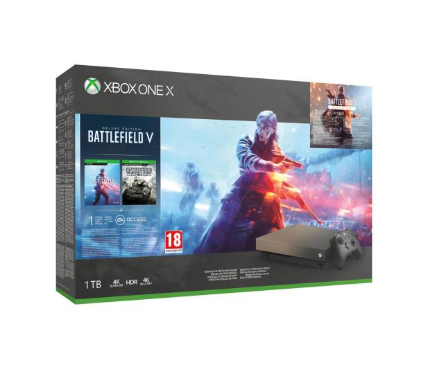 Microsoft Xbox One X 1TB+ Battlefield 5 +BF1943 - 460389 - zdjęcie