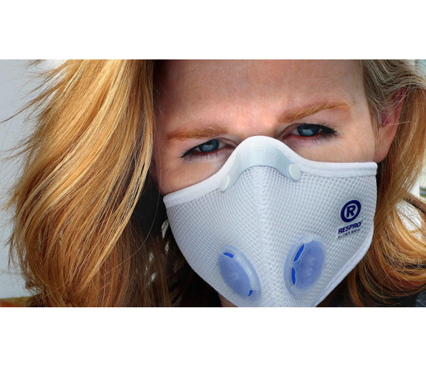 Respro Allergy Mask White L - 462032 - zdjęcie 4