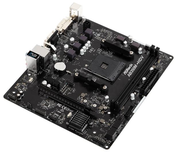 ASRock AB350M-HDV R3.0 - 461960 - zdjęcie 4