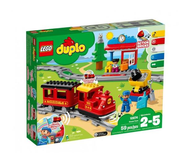 LEGO DUPLO Pociąg parowy - 432466 - zdjęcie