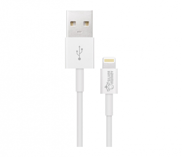 Silver Monkey Kabel USB 2.0 - Lightning 1,2m - 461261 - zdjęcie