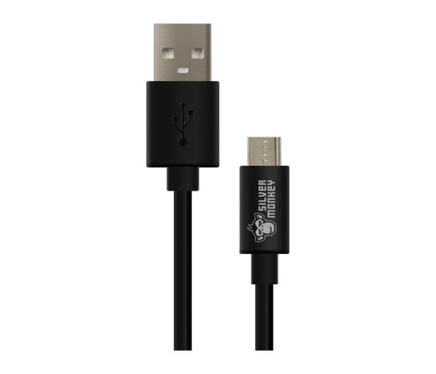 Silver Monkey Kabel USB 2.0 - micro USB 2m - 461255 - zdjęcie