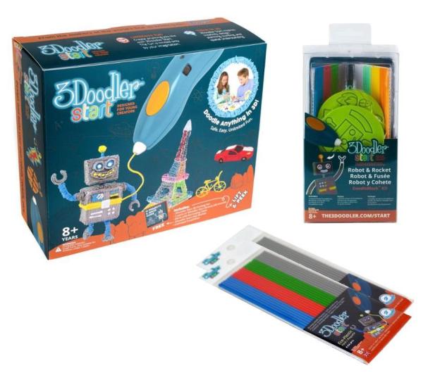 TM Toys 3Doodler zestaw podstawowy+gratisy - 462415 - zdjęcie