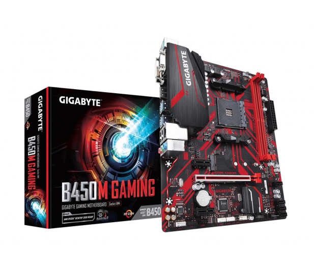 Gigabyte B450M GAMING - 463129 - zdjęcie