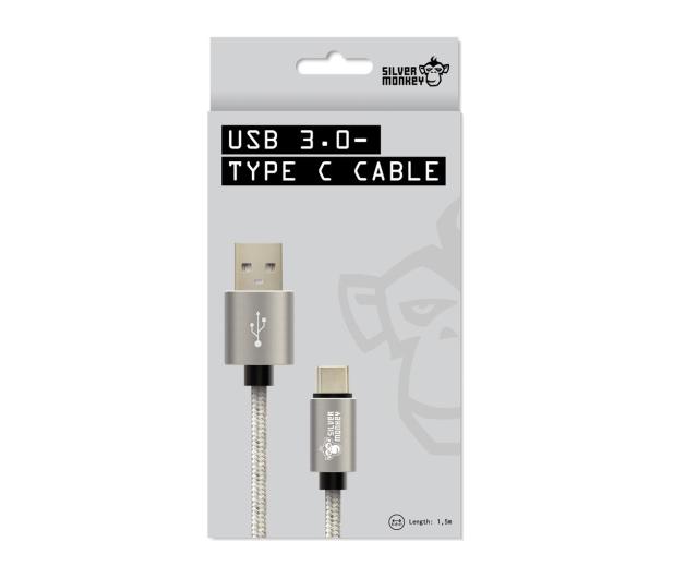 Silver Monkey Kabel USB 3.0 - USB-C 1,5m - 461251 - zdjęcie 2