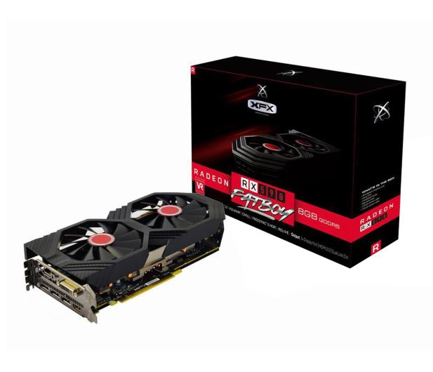XFX Radeon RX 590 Fatboy OC+ 8GB GDDR5 - 463849 - zdjęcie