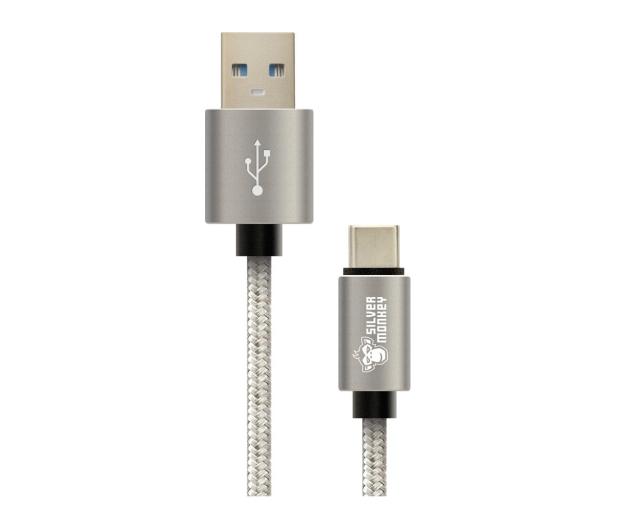 Silver Monkey Kabel USB-C - USB 3.0 1,5m - 461250 - zdjęcie