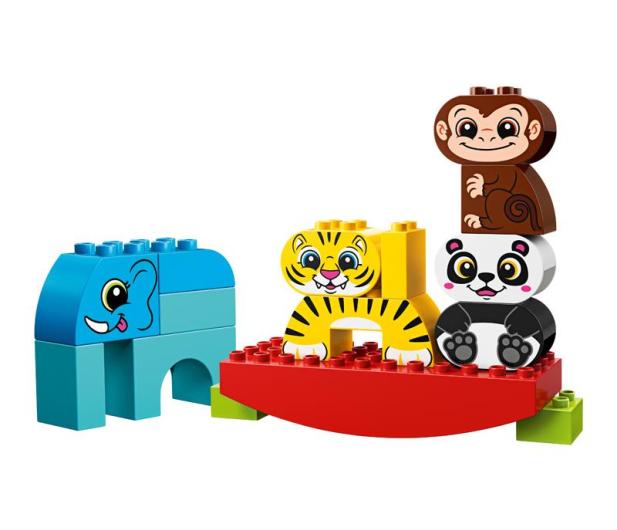 LEGO DUPLO Moje pierwsze zwierzątka na równoważni - 465040 - zdjęcie 2