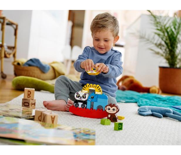 LEGO DUPLO Moje pierwsze zwierzątka na równoważni - 465040 - zdjęcie 3
