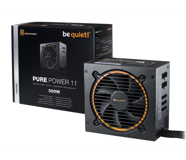 be quiet! Pure Power 11 CM 500W 80 Plus Gold - 459597 - zdjęcie
