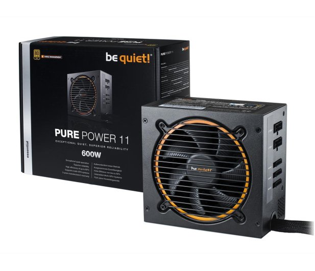 be quiet! Pure Power 11 CM 600W 80 Plus Gold - 459598 - zdjęcie